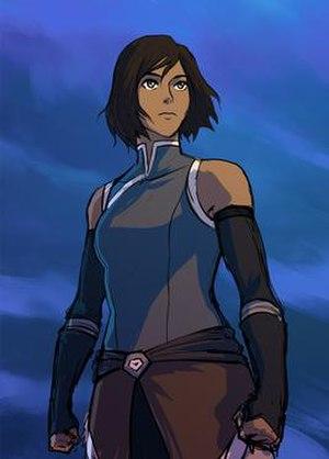 Korra - Korra as she appears in Book 4.