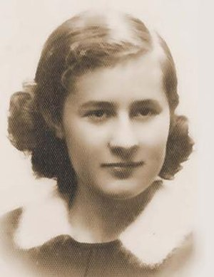 Krystyna Dańko - Portrait from before the Holocaust