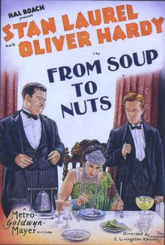 From Soup to Nuts - Theatrical release poster