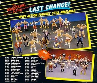 Wrestling Superstars Action figure series