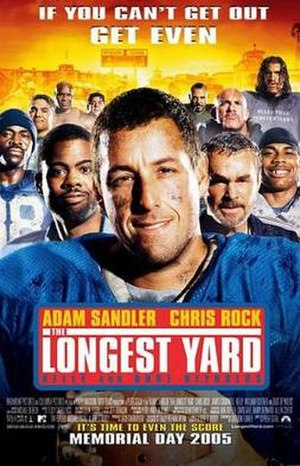 The Longest Yard (2005 film) - Theatrical release poster