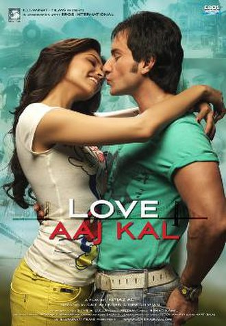 Love Aaj Kal - Theatrical release poster