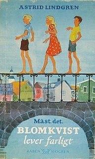 <i>Bill Bergson Lives Dangerously</i> book by Astrid Lindgren