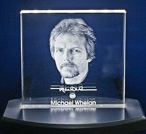 Michael Whelan - Image: MWHOFBLOCK