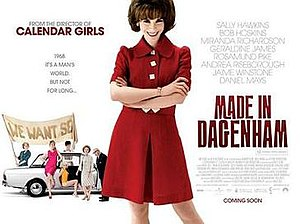 Made in Dagenham - Image: Made in dagenham poster