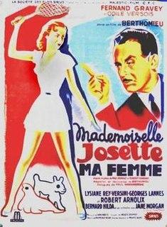 <i>Mademoiselle Josette, My Woman</i> (1950 film)