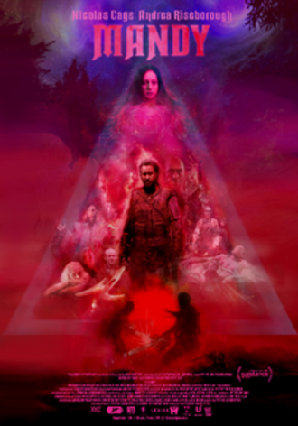 Mandy (2018 film) - Theatrical release poster