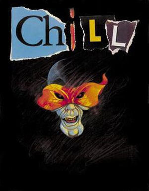 Chill (role-playing game) - Chill cover, Mayfair Edition