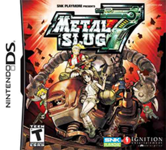 Metal Slug 7 - Nintendo DS Cover art