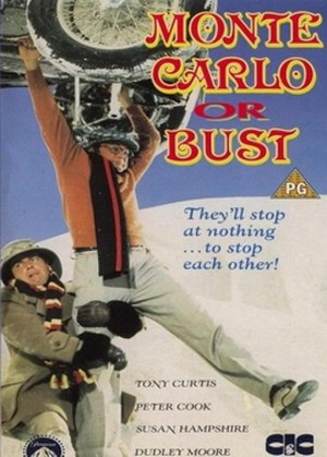 Monte Carlo or Bust! - British cinema release poster