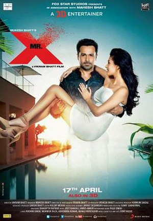 Mr. X (2015 film) - Theatrical poster