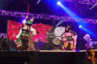 Otakuthon - Contestants perform on stage at the 2014 Canadian Preliminaries