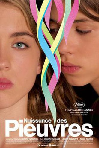 Water Lilies (film) - French theatrical release poster