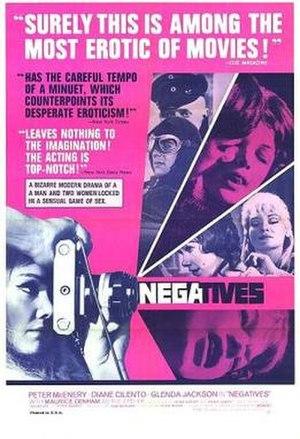 Negatives (1968 film) - Image: Negatives Film Poster