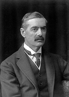 Neville Chamberlain Prime Minister of the United Kingdom from 1937 to 1940