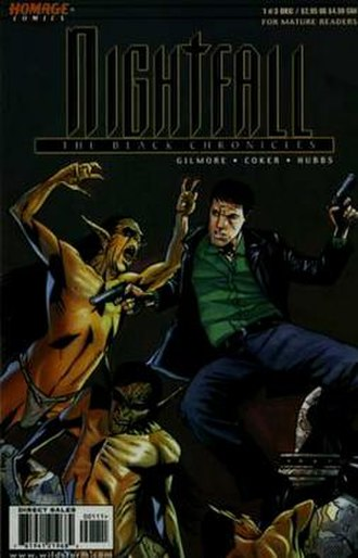 Nightfall: The Black Chronicles - Cover of the first issue