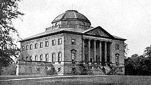 Nuthall Temple - Nuthall Temple photographed in 1906. The house was demolished in 1929.