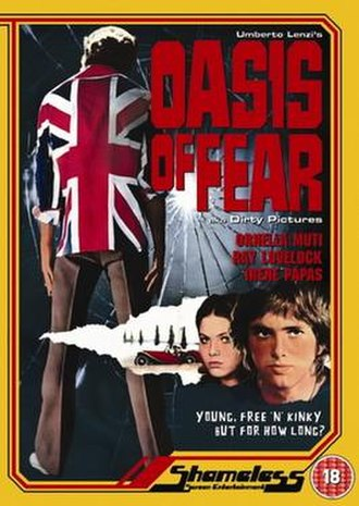 Oasis of Fear - DVD release poster