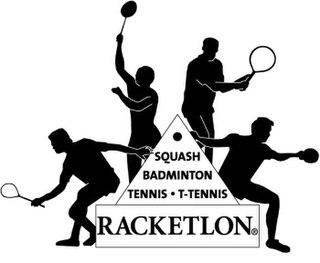 Racketlon combination of racquet sports