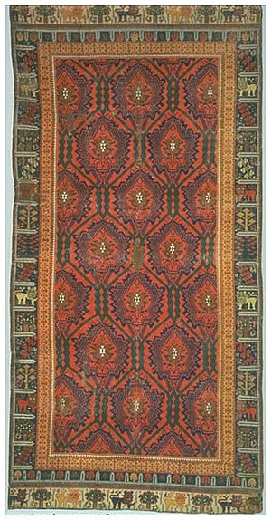 History of Spain - This 16th-century Spanish carpet shows stylistic influences from Europe and the Islamic world. Collections of the Textile Museum (Washington, D.C.).