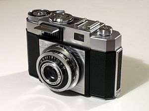 Old camera-whole