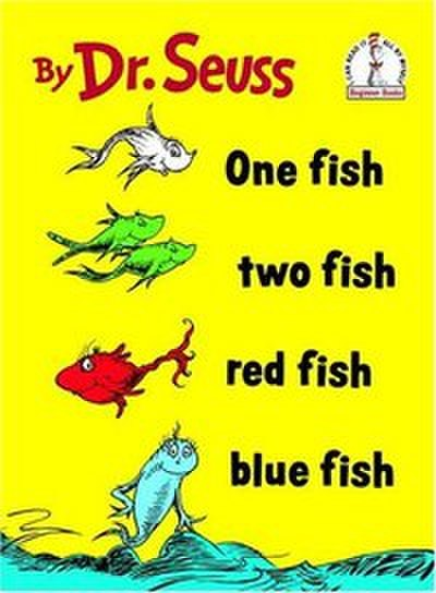 Picture of a book: One Fish, Two Fish, Red Fish, Blue Fish