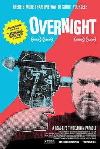 Overnight - Theatrical release poster