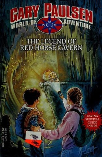The Legend of Red Horse Cavern - Image: Paulsen The Legend of Red Horse Cavern Coverart