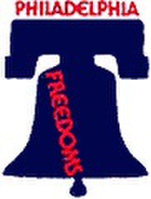 Boston Lobsters (1974–1978) - Philadelphia Freedoms logo used in 1974.