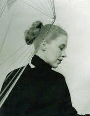 Gerður Helgadóttir - Image: Photo of Gerður Helgadóttir