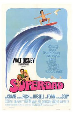 Superdad - Image: Poster of the movie Superdad