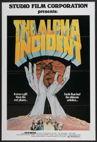 The Alpha Incident - Image: Poster of the movie The Alpha Incident