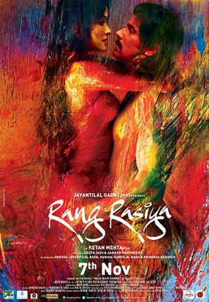 Rang Rasiya - Promotional poster for the film
