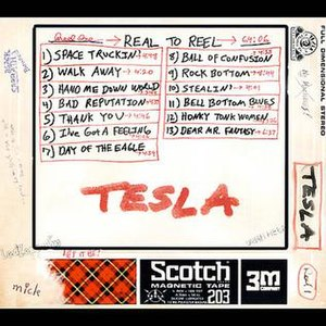 Real to Reel (Tesla album) - Image: Real to reel