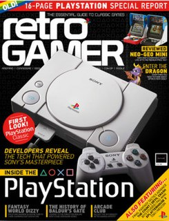 <i>Retro Gamer</i> video game magazine