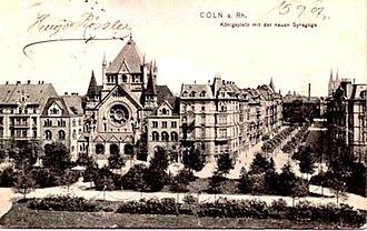 Roonstrasse Synagogue - Image: Roonstrasse 1907