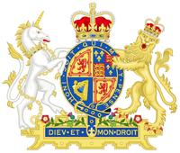 Royal arms of Scotland 1691 - 1702