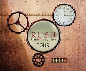 Time Machine Tour - Image: Rushtimemachinetour 2010