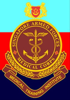 SAF Medical Training Institute - Crest of SMTI