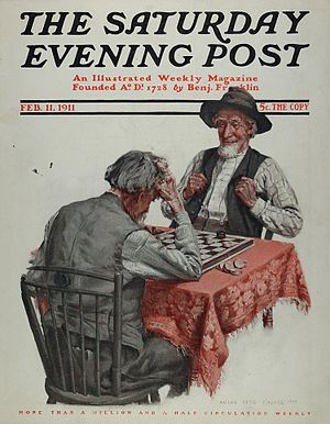 Anton Otto Fischer - Image: Saturday Evening Post 2 11 1911