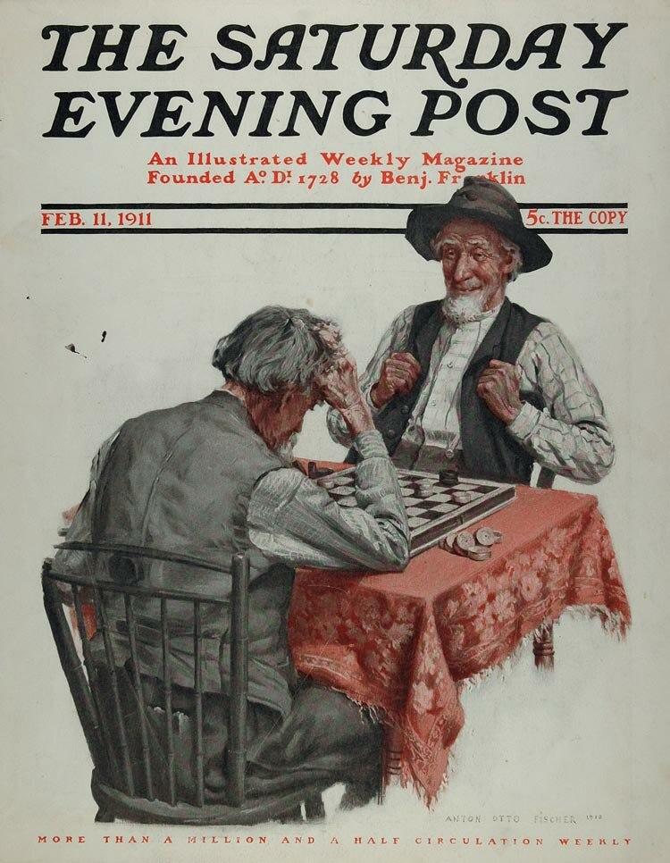 Saturday Evening Post 2-11-1911