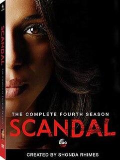 <i>Scandal</i> (season 4) Season of American television series Scandal