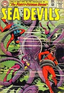 Sea Devils (comics) Team of characters in DC Comics