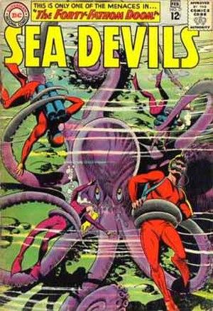 Sea Devils (comics) - Image: Seadevilsdc