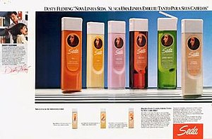 Sunsilk - An 1985 advertisement of Sunsilk, known as Seda in Brazil.