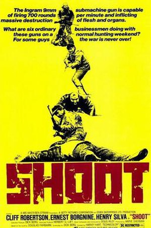 Shoot (film) - Theatrical release poster