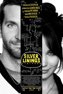 <i>Silver Linings Playbook</i> 2012 American film directed by David O. Russell