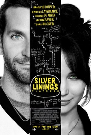 Silver Linings Playbook - Theatrical release poster