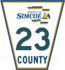 Simcoe Road 23 sign.png
