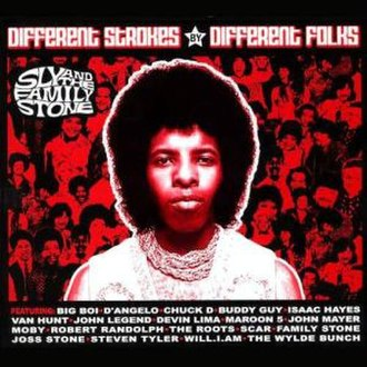 Different Strokes by Different Folks - Image: Sly And The Family Stone Different Strokes By Different Folks Starbucks Version CD Album Cover